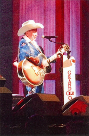 Little Jimmy Dickens at the Grand Old Opry